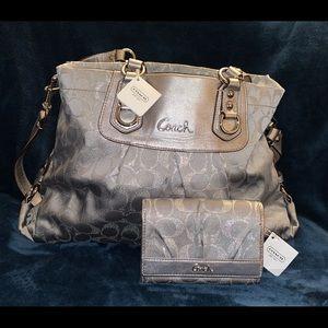 COACH Ashley Purse & Soho Clutch (wallet)